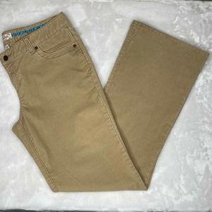 Aeropostale Mid-Rise Flared Corduroy Pants